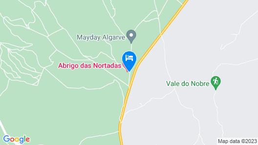 Abrigo das Nortadas Map