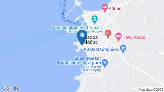 Nissaki Beach Hotel Map
