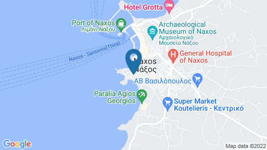Doron Hotel Delfini Map