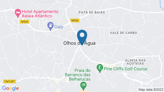Villa With 3 Bedrooms in Albufeira, With Private Pool, Enclosed Garden and Wifi - 900 m From the Beach Map