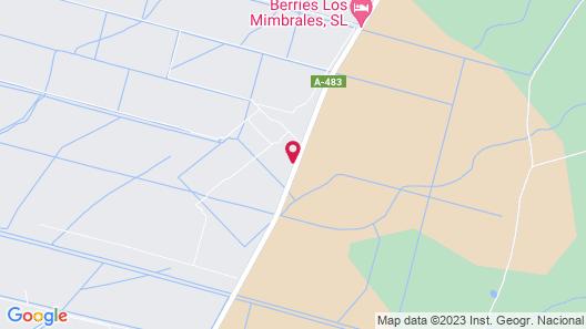Cortijo DE LOS Mimbrales Map