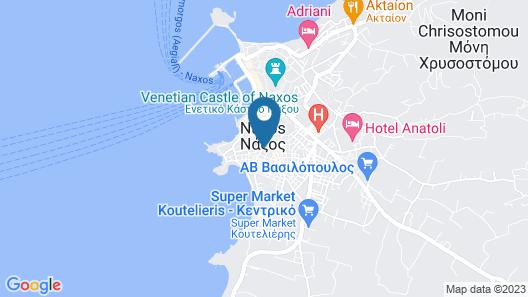 Hotel Sphinx Map