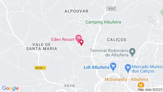 Eden Resort Map