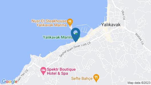 Yalikavak Marina Boutique Hotel Map