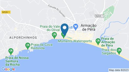 Holiday Inn Algarve - Armacao de Pera, an IHG Hotel Map