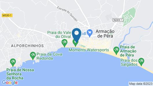Holiday Inn Algarve Map