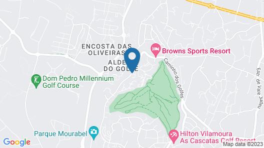 Prado do Golf Map