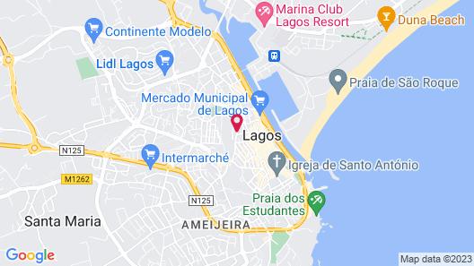 Casa Mãe Lagos Map