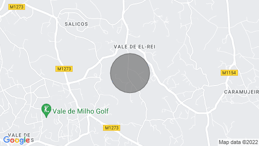 Luxury Villa With Large Pool and Stunning Ocean View in Carvoeiro Region Map