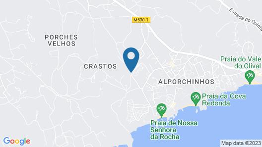 Quinta das Figueirinhas & Quintinha Village Map