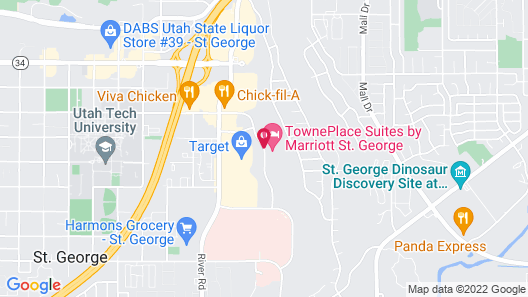 TownePlace Suites by Marriott St. George Map