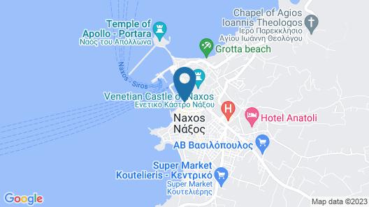 Xenia Hotel Map