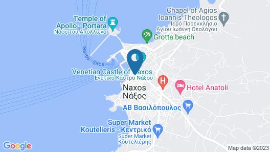 Anassa Suites Map