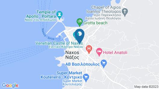 Emery  Hotel Map