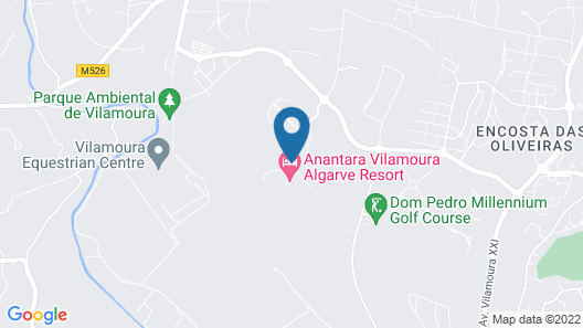 Anantara Vilamoura Map