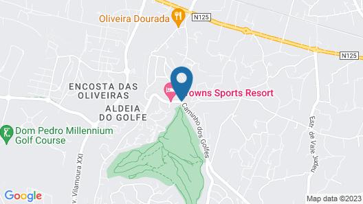 Browns Sports Resort Map