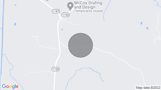 A Private Country Cottage All To Yourself Map