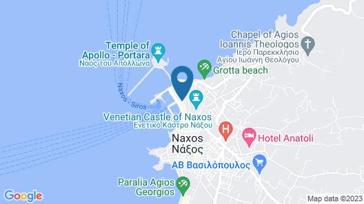 Kissos Luxury Suites Map