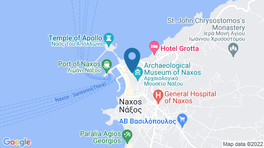 Hotel Panormos Map