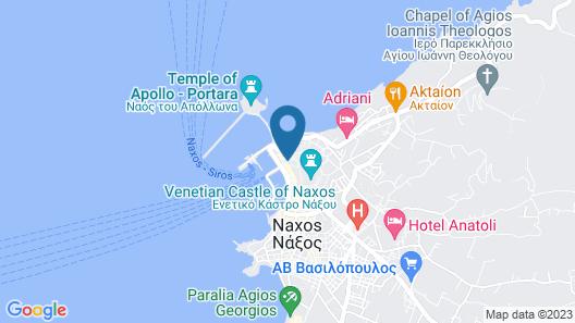 Venetian Suites Map