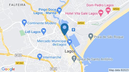 Lagos Avenida Hotel Map