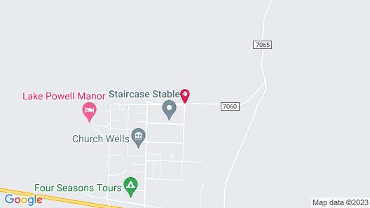 Wander Camp Lake Powell Map