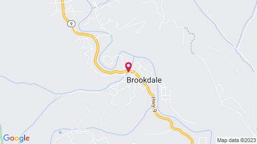 Brookdale Lodge Map