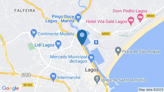 Marina Rio Map