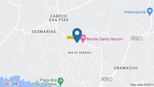 Monte Santo Resort Map