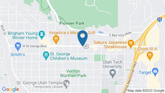 Econo Lodge St George Map