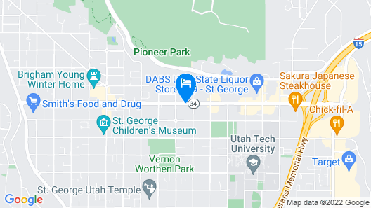 Econo Lodge St George Map