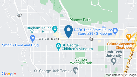 Best Western Coral Hills Map