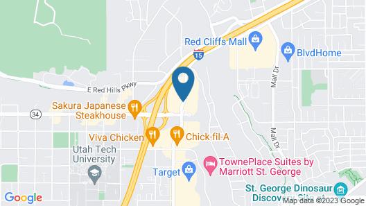 America's Best Inn & Suites Map