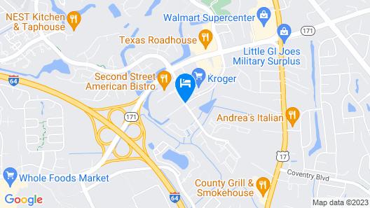 Candlewood Suites Newport News/Yorktown Map