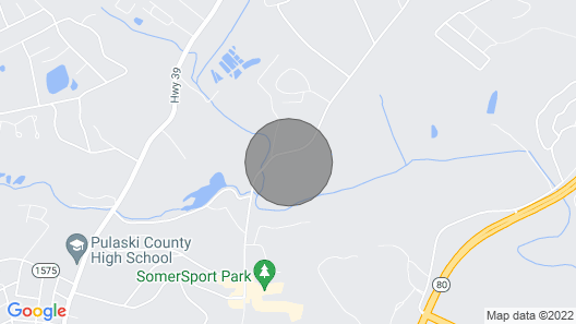 Pumphouse Rd  Map