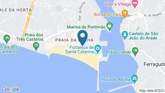 Santa Catarina Algarve Map