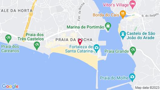 Hotel Algarve Casino Map