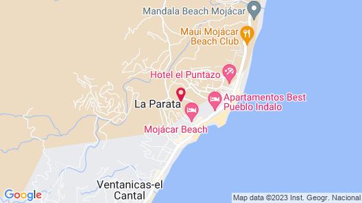 Hotel Apartamentos Mojácar Beach Map