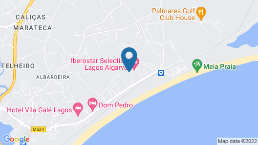 Iberostar Selection Lagos Algarve Map