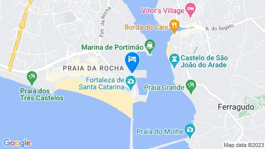 Tivoli Marina Portimao Map
