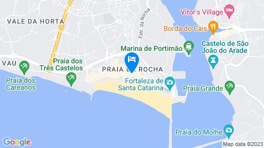 Hotel Da Rocha Map