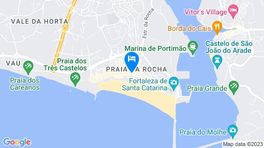 Jupiter Algarve Hotel Map