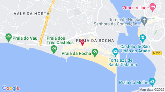 Hotel Avenida Praia Map