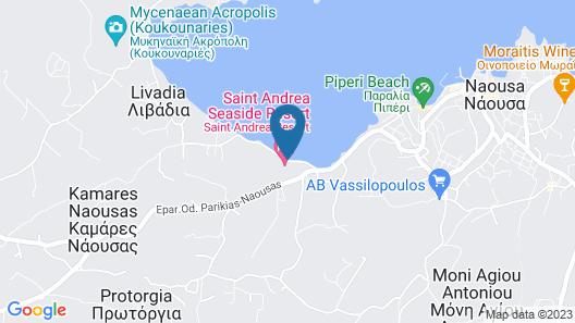 Saint Andrea Sea Side Resort Map