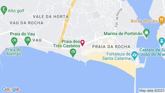 Apartamentos Jardins da Rocha Map