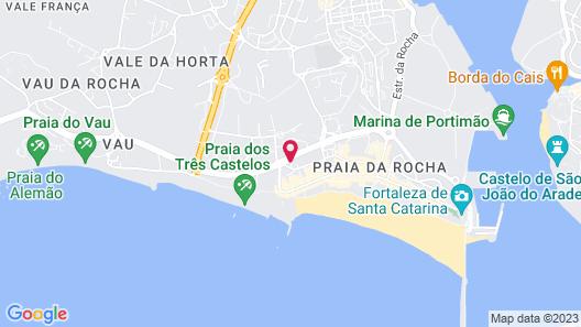 Rocha Tower by Beach Rentals Map