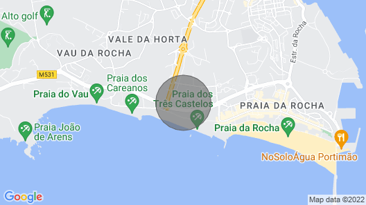 Apartment with pool and sea view Map