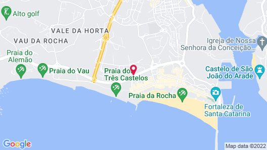 Clube DOS Arcos Map