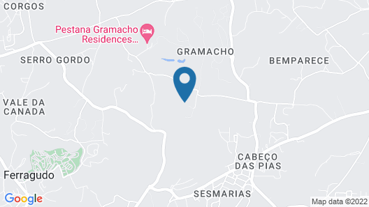 Vale d'Oliveiras Quinta Resort & Spa Map