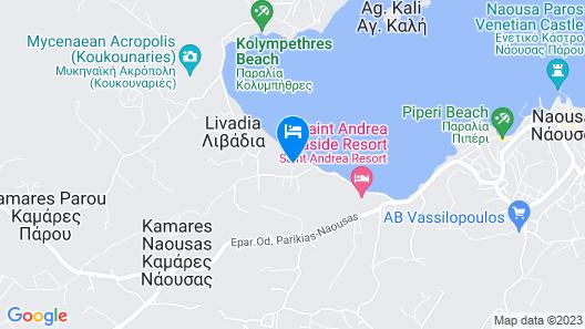 Astir Of Paros Map